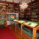 Stiftsbibliothek mit 3.800 Büchern im Altbestand. © Josef Sturm