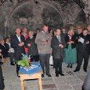 Im Weinkeller des Stiftes wurde anschließend gefeiert.