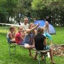 Jungscharlager 2014: Beim Zelten