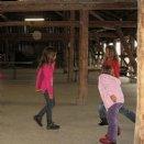 Jungscharlager 2014: Das Spielen im Stadl war toll!