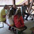 Jungscharlager 2014: Auch Mamas und Papas haben uns besucht.