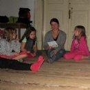 Jungscharlager 2014: Geschichtenabend im Herrenhaus