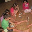 Jungscharlager 2014: Beim Abendritual