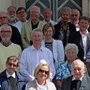Gruppenfoto vor der Filialkirche St. Leonhard in Spittal am Pyhrn © Mag. Anneliese Handlechner