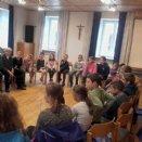 Erstes Treffen von Jungschar und Minis nach dem Zusammenlegen der beiden Gruppen © Pfarre Mattsee