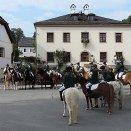 Reitergruppe Mattsee bei der Erntedankprozession © Pfarre Mattsee