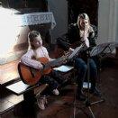 Die musikalische Begleitung © Gisela Hartinger