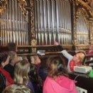 Orgelbesichtigung mit Magdalena Langwieder © M. Löffelberger