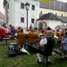 Die Trachtenmusikkapelle umrahmte unser Pfarrfest © M. Löffelberger