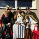 Familie Hofbauer als Hl. Könige © Pfarre Mattsee/privat