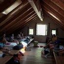 Unser Schlaflager im Zellhof - Saustall © Löffelberger