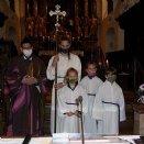 Ministrantenaufnahme - die 4 Neuen mit Herrn Pfarrer © Pfarre Mattsee