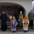 Gruppenfoto mit Herrn Pfarrer © Josef Hofbauer