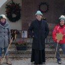 Magdalena, Pfarrer Franz und Maria © Josef Hofbauer